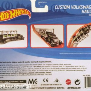 Hot Wheels Custom Volkswagen Hauler: 2020 Track Stars GMB67 Card Front