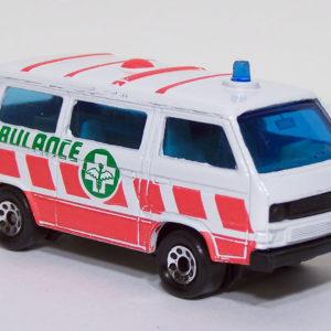 Matchbox #20 VW Ambulance Front Right