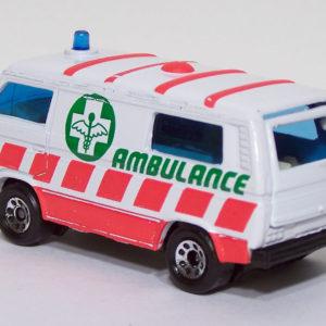 Matchbox #20 VW Ambulance Rear