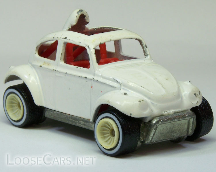 Hot Wheels Baja Beetle: 1987 #2542 (Real Riders) Front Right