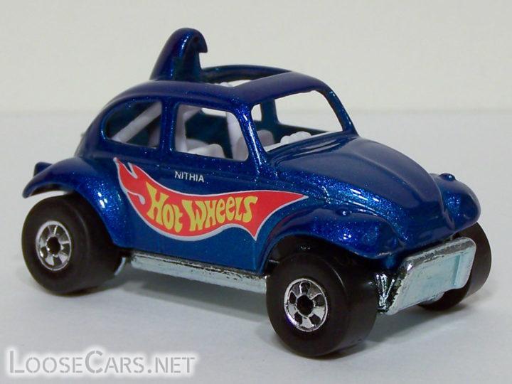 Hot Wheels Baja Beetle: 1998 #835 (Blue)