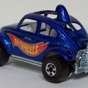 Hot Wheels Baja Beetle: 1998 #835 (Blue) Rear Left