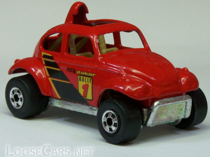 Hot Wheels Baja Beetle: 1998 #835 (Red)