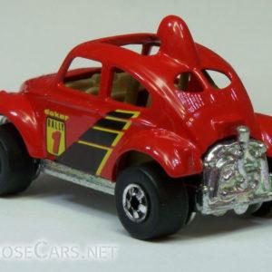 Hot Wheels Baja Beetle: 1998 #835 (Red) Rear Left