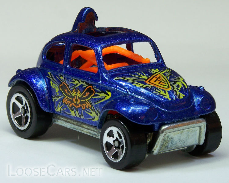 Hot Wheels Baja Beetle: 1999 #944 Buggin' Out Front Right