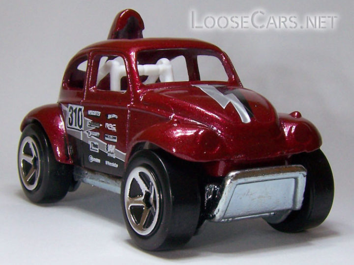 Hot Wheels Baja Beetle: 2008 #131 Team Volkswagen