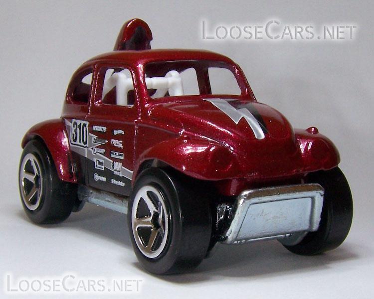 Hot Wheels Baja Beetle: 2008 #131 Team Volkswagen Front Right