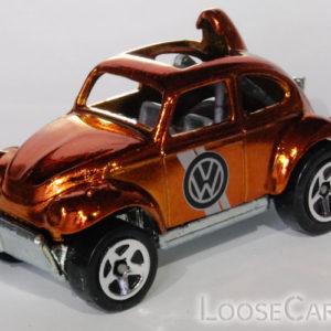 Hot Wheels Baja Beetle: 2008 Hot Wheels Classics Series 4 (Copper) Front Left