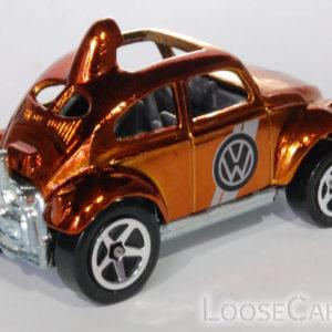 Hot Wheels Baja Beetle: 2008 Hot Wheels Classics Series 4 (Copper) Rear Right