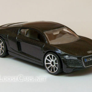 Hot Wheels Audi R8: 2008 #3 (Charcoal Grey) Front Right