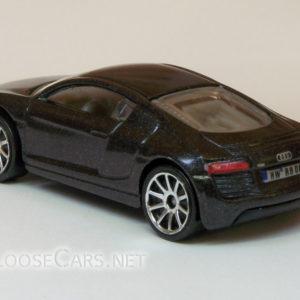 Hot Wheels Audi R8: 2008 #3 (Charcoal Grey) Rear Left