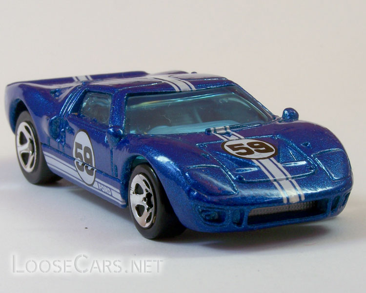 Hot Wheels Ford GT-40: 1999 #921 First Editions Front Right