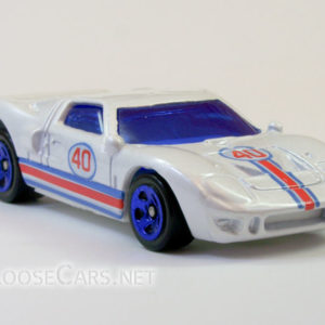 Hot Wheels Ford GT-40: 2008 #95 Web Trading Cars (Pearl White) Front Right