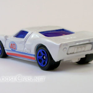 Hot Wheels Ford GT-40: 2008 #95 Web Trading Cars (Pearl White) Rear Left