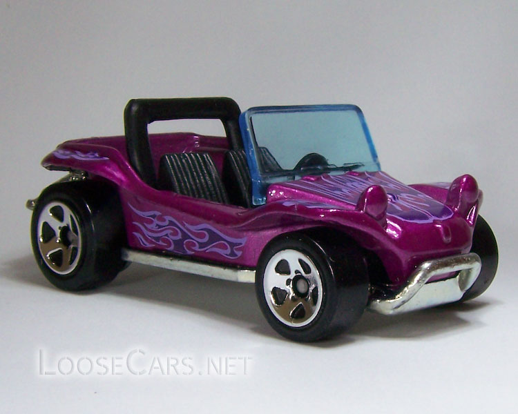 Hot Wheels Meyers Manx: 2008 #80 Web Trading Cars Front Right