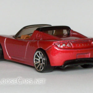 Hot Wheels 2008 Telsa Roadster: 2008 #26 First Editions Rear Left