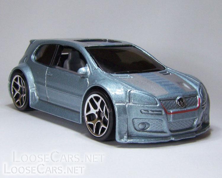 Hot Wheels Volkswagen Golf GTI: 2008 Team Volkswagen Front Right