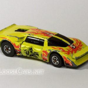 Hot Wheels Sidebanger: 1985 #7580 Sidebanger Crashed