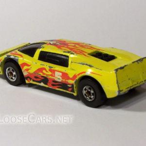 Hot Wheels Sidebanger: 1985 #7580 Sidebanger Rear Left