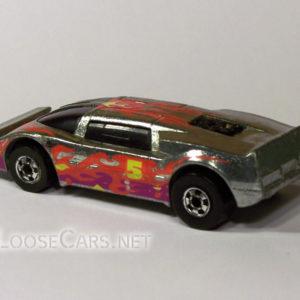 Hot Wheels Sidebanger: 1986 #9329 Sock 'n Roll Rear Left
