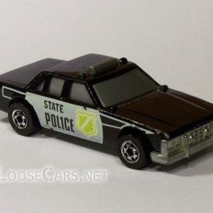Hot Wheels Flip Buster: 1986 Flip Outs (Black) Front Right