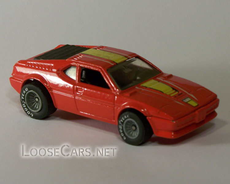 Hot Wheels BMW M1: 1983 #3289 Real Riders Front Right