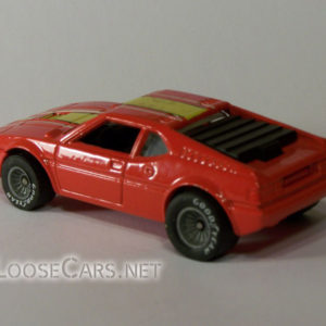 Hot Wheels BMW M1: 1983 #3289 Real Riders Rear Left