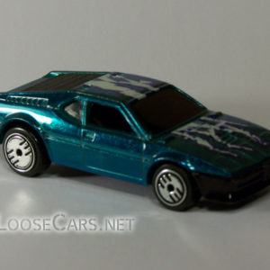 Hot Wheels BMW M1: 1984 #7296 Front Right