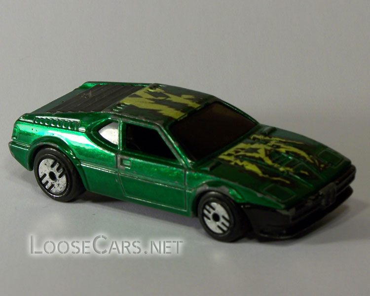 Hot Wheels BMW M1: 1985 #7296 Front Right