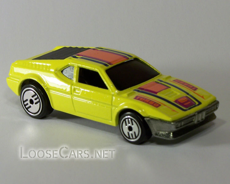 Hot Wheels BMW M1: 1987 Heroes Right Front