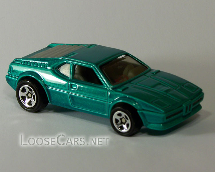 Hot Wheels BMW M1: 1996 #473 Right Front