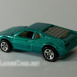 Hot Wheels BMW M1: 1996 #473 Rear Left