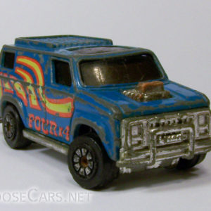 Kenner Fast 111's Blue Monday: 1980 Front Right