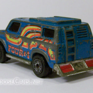 Kenner Fast 111's Blue Monday: 1980 Rear Left