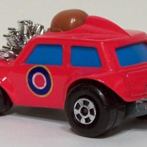 Matchbox Superfast #14 Mini Ha-Ha: 1975 #14 Rear Left