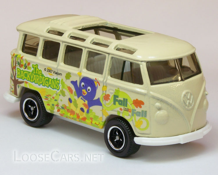 Matchbox VW Transporter: 2008 Nickelodeon 5-Pack Front Right