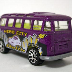 Matchbox VW Transporter: 2004 #45 Hero City Getting Around Rear Left