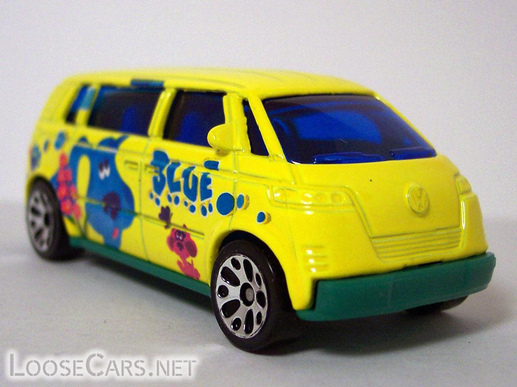 Matchbox Volkswagen Microbus: 2004 Nick Jr. 5-Pack Front Right