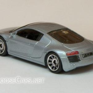 Matchbox Audi R8: 2007 #14 MBX Metal (Silver) Rear Left