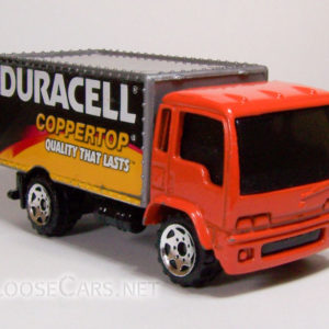 Matchbox Delivery Truck: 2005 #9 Duracell Front Right