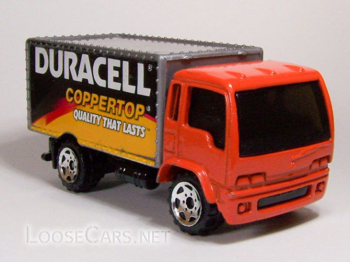 Matchbox Delivery Truck: 2005 #9 Buried Treasure (Duracell)