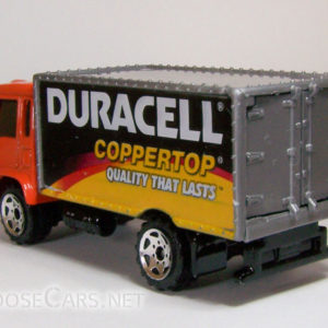 Matchbox Delivery Truck: 2005 #9 Duracell Rear Left
