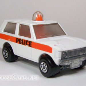 Matchbox Police Patrol: 1975 #20 Front Right