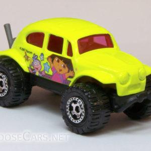 Matchbox Volkswagen Beetle 4×4: 2008 Nick Jr. Front Right