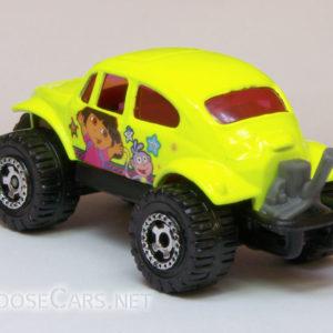 Matchbox Volkswagen Beetle 4×4: 2008 Nick Jr. Rear Left