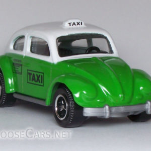 Matchbox Volkswagen Beetle Taxi: 2008 #56 Front Right
