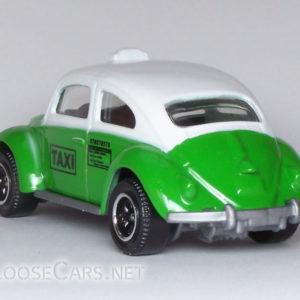 Matchbox Volkswagen Beetle Taxi: 2008 #56 Rear Left