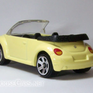Matchbox Concept 1 Beetle Convertible: 2008 #32 Rear Left