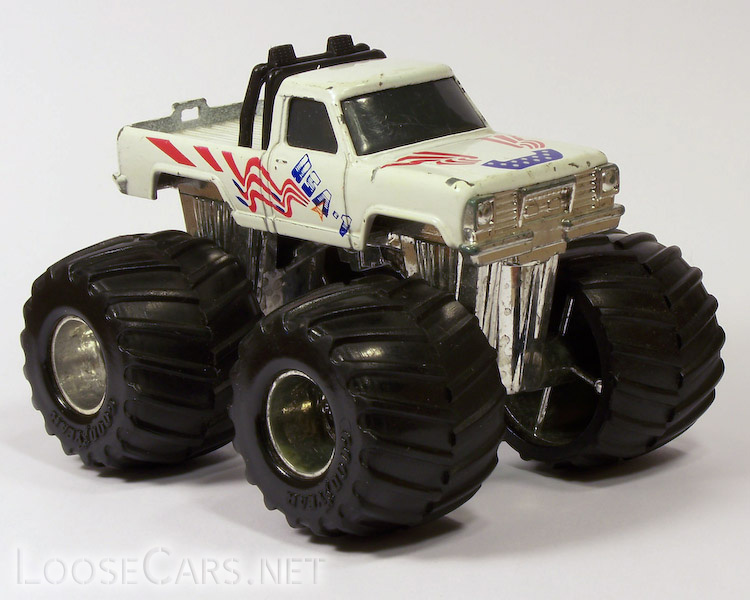 Matchbox Super Chargers USA-1: 1986 SC-2 Front Right