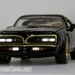 Racing Champions 1978 Pontiac Trans Am: 2001 Smokey and the Bandit Front